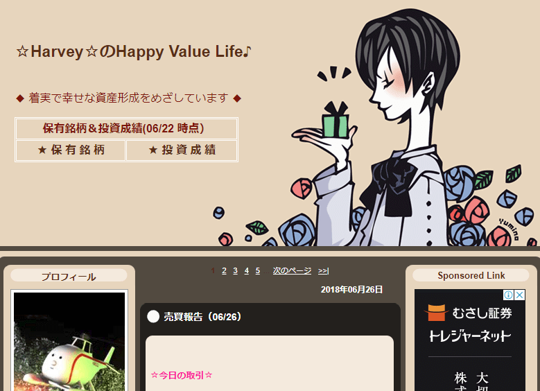 HarveyのHappy Value LifeのTOP画像